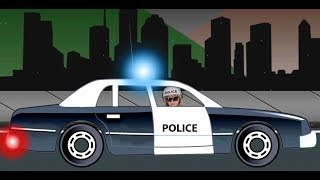 Monster Trucks For Childrens - Police Car For Kids Videos