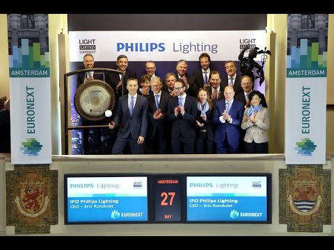 Euronext welcomes Philips Lighting