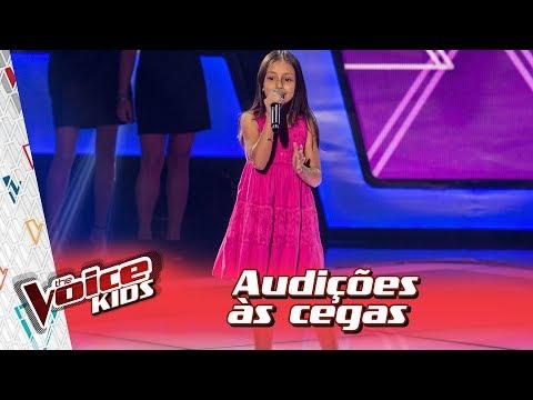 Yasmim Giacomini canta 'Fico Assim Sem Você' na Audição – 'The Voice Kids Brasil' | 3ª Temporada