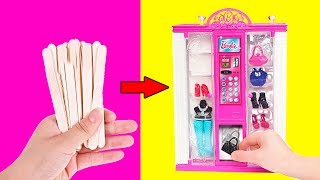 как сделать всю мебель для кукол