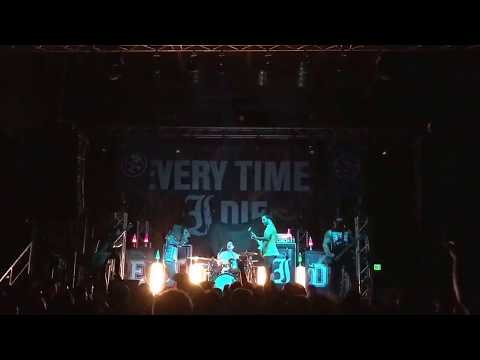 Every Time I Die Map Change Live in Salt Lake City