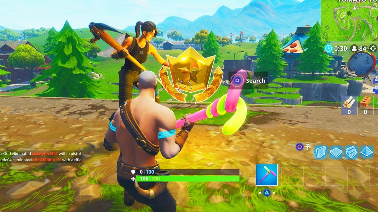 Follow The Treasure Map Found In Risky Reels Location Fortnite Week  Challenges
