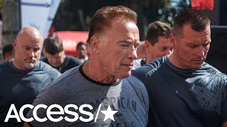 Arnold Schwarzenegger Is Dropkicked At South Africa Event And Doesn39t Go Down  Access