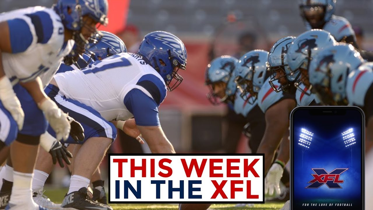 XFL 2020: How to watch all four Week 1 games, kickoff times, TV ...