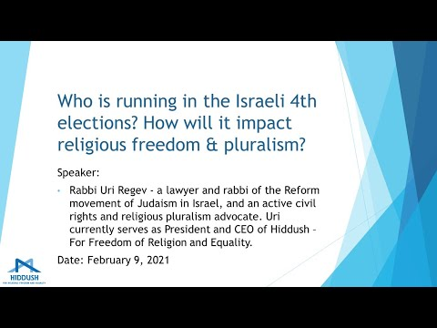 Who Is Running In The Israeli 4th Elections?