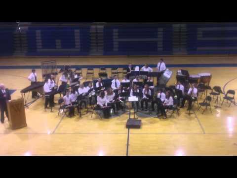 Wynford Junior High School Band - March 3, 2014