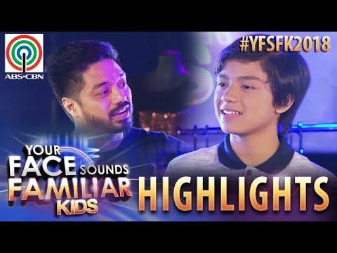 YFSF Kids 2018 Highlights: Noel Comia, Jr  as Justin Timberlake | Week 9 Mentoring Session