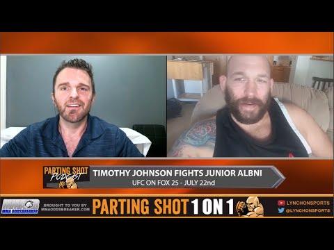Heavyweight Tim Johnson talks UFC on FOX 25 fight, training in Las Vegas & Video Games