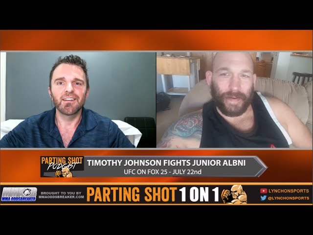 Heavyweight Tim Johnson talks UFC on FOX 25 fight, training in Las Vegas & Video Games