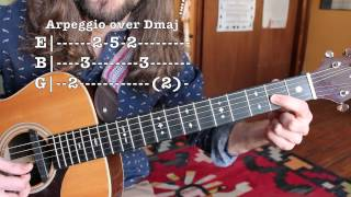 Lead Guitar Lesson - Arpeggios, Scales and Transposition - A...