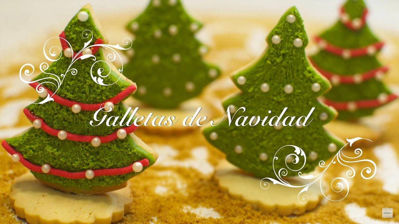Galletas De Navidad Decoradas Galletas De Mantequilla Galletas Para Hacer Con Niños