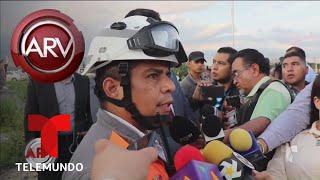 Tragedia en Monterrey por derrumbe de un edificio | Al Rojo Vivo | Telemundo