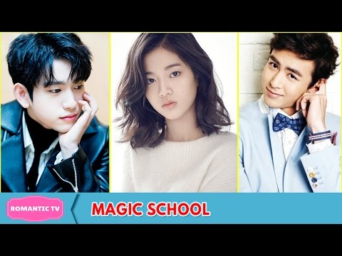 GOT7's Jinyoung, Nichkhun, Yoon Park and More Cast In Webdrama Magic School