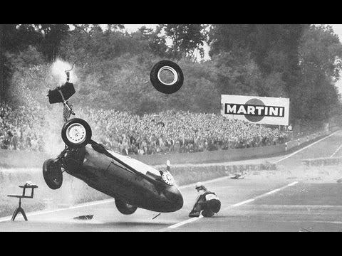 F1 - 1959 Avus GP - Hans Hermann accident