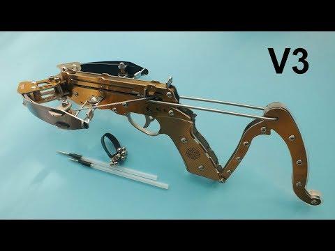 Golden Pistol Mini Crossbow 2017-V3 Upgraded New Version V3