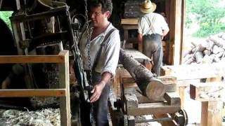 The Apple Barrel Industry - Shingle & Stave Mill in Production
