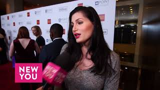 Trace Lysette at the Point Foundation Event