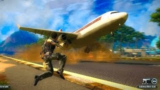 Just Cause 2 - Gameplay Fun Time in the Airport