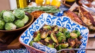Home & Family - Kiss' Paul Stanley Cooks Brussels Sprouts & Chicken Marinade