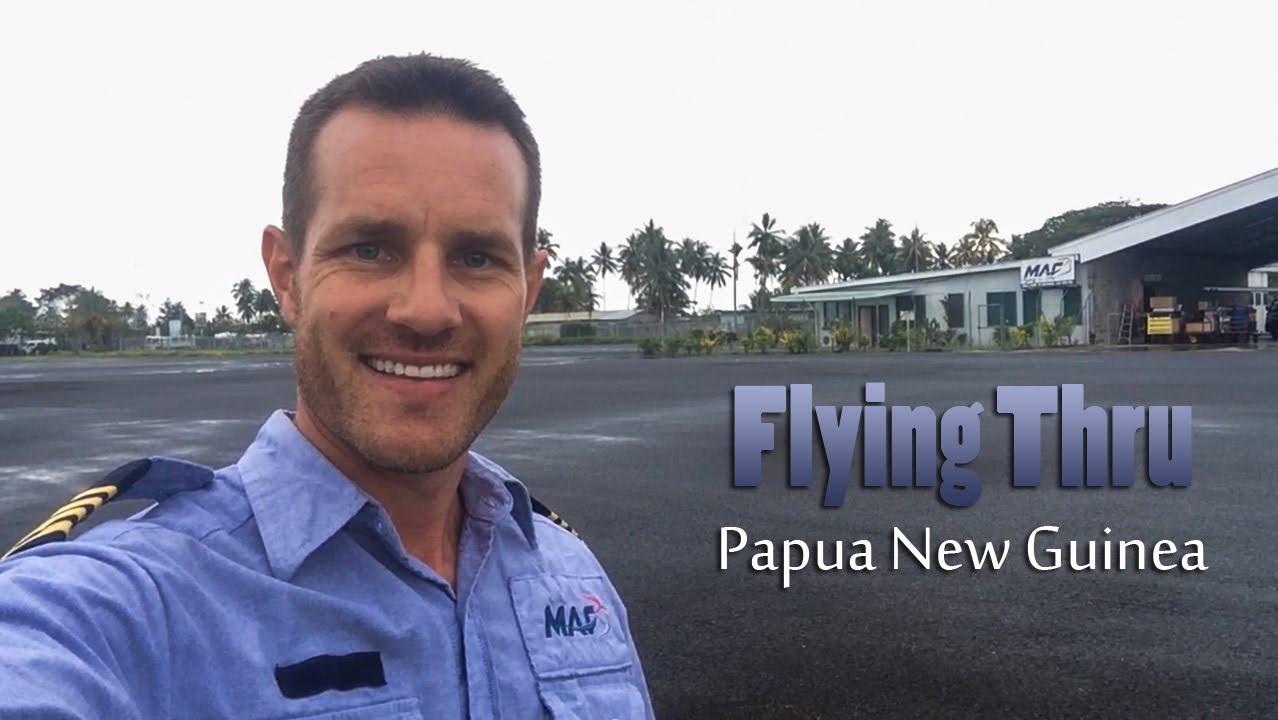 Missionary bush pilot in Papua New Guinea - YouTube