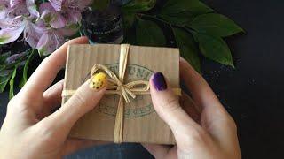 ASMR / АСМР Розпакування оливкового мила з Італії