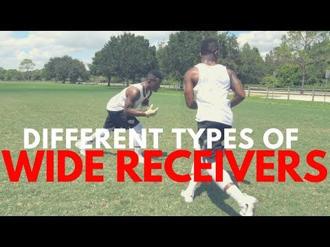 THE DIFFERENT TYPES OF WIDE RECEIVERS