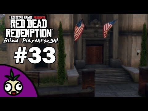 The Bank Raid | Ankford Plays: Red Dead Redemption Blind | Part 33