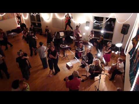 Totnes community Orquesta Tipica with Patrick Vankeirsbilck