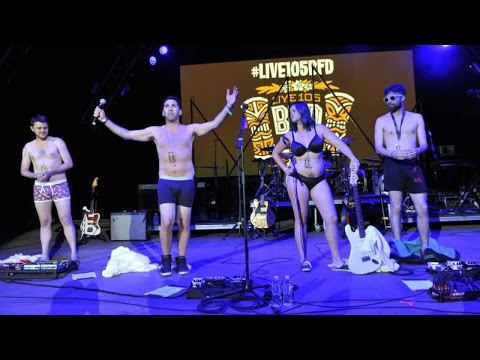 Kevin Klein Live Strips Down For LIVE 105 BFD