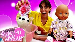 Vidéo pour les filles. Comme maman - épisode 41 : amie de bébé born Emilie et Chichilove