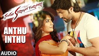 Santhu Straight Forward Songs | Anthu Inthu Full Song | Yash, Radhika Pandit | V. Harikrishna