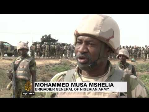 The Nigerian task force fighting Boko Haram in Borno