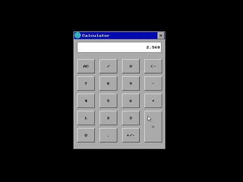 GUI Calculator - Just Coding