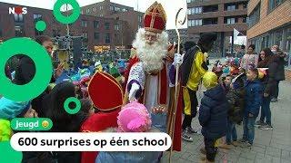Sinterklaas op de grootste school van Nederland