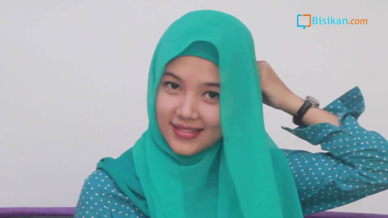 Tutorial Hijab Paris Simple Untuk Sehari Hari YouTube