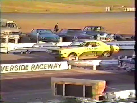 Blast From The Past During An IERA Event At Riverside International Raceway
