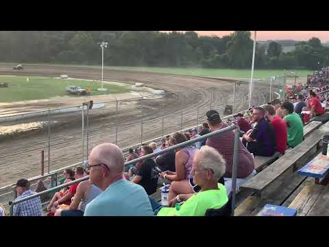 Muskingum County Speedway 7-20-19 Hotlaps Rod Jones #820 Mark Marcucci Sr #8M
