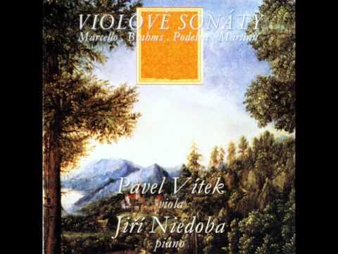 Johannes Brahms : Sonata for Viola and Piano F Minor Op.120,No.1