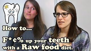 Reacting to when I ate raw: How I got 13 cavities
