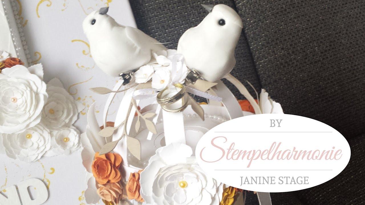 Bastelanleitung Vogelkfig als Spardose fr die Hochzeit