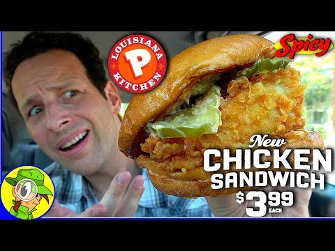 Popeyes® | SPICY Chicken Sandwich Review 🌶️🐔 | Peep THIS Out! ⚜
