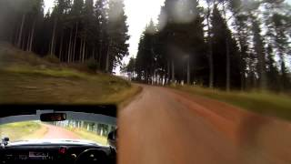 2014 Colin McRae Forest Stages Rally- Stage 01 - Mk2 Escort - Scott Kerr/Michael Cruikshank