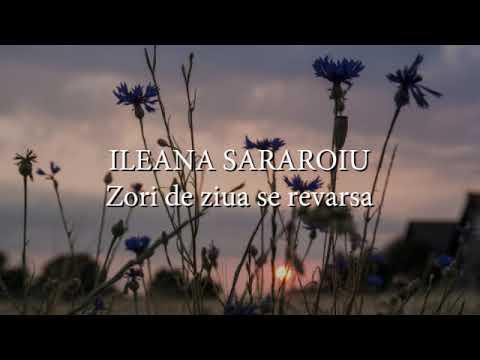 Ileana Sararoiu - Zori de ziua se revarsa (versuri, lyrics, karaoke)