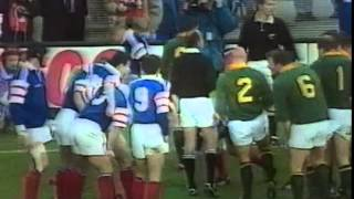 Rugby Test Match 1997 - France vs. South Africa - Part 2/6