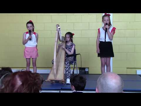 Hallelujah with Harp and Flute