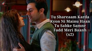 Care Ni Karda Lyrics | Chhalaang | Rajkummar R, Nushrratt B | Yo Yo Honey Singh, Alfaaz, Hommie D