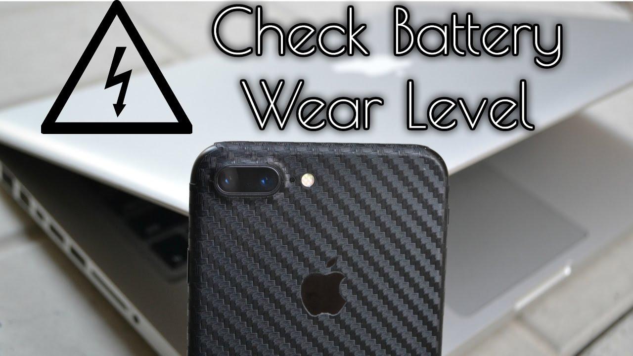 Iphone Battery Wear Level