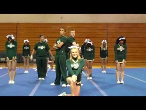Methodist University Cheerleading 2011