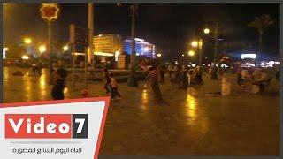 بالفيديو.. تواصل الاحتفالات بميدان التحرير فى ثالث أيام عيد الأضحى