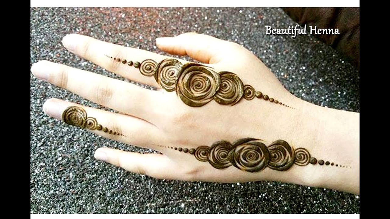 Easy And Stylish Mehndi Designs 2018 Youtube